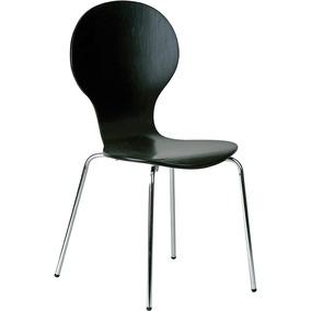 Jogo De 04 Cadeiras Formici Links Preto