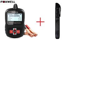 Foxwell Bt100 Pro 6 V 12 V Testador De Bateria +caneta Teste