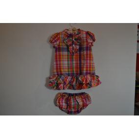 Vestido Xadrez Infantil Ralph Lauren - Calçados c3a28fe9818
