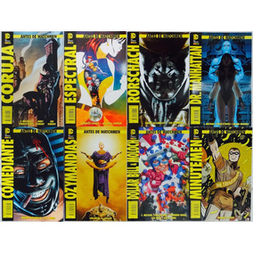 Antes De Watchmen Completa 1 A 8 Capas Principais Originais