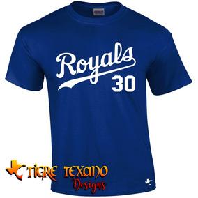 Playera Mlb Reales De Kansas City By Tigre Texano Designs