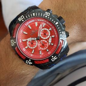 8c9eb465d35 Relogio Invicta Fundo Vermelho Masculino - Relógio Invicta Masculino ...