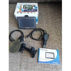 Tv Digital Tela 4,3 Pol. Com Gps Automotivo Fs 4600t Foston