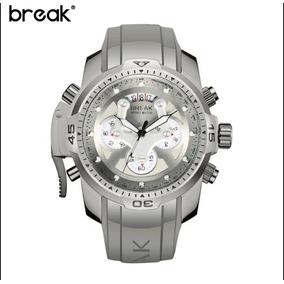 6c75a676f13 Relógio Masculino Esporte Branco Militar Break Original