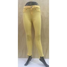 Pantalon Dama Oggi Chelo Cintura Alta Mezclilla Colores