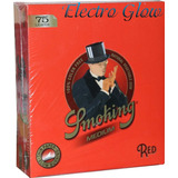 Papel Smoking Red Zig Zag Sabanas Envio Gratis
