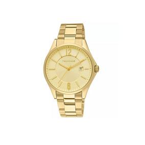 Relógio Technos Masculino Dourado 2115tf4x