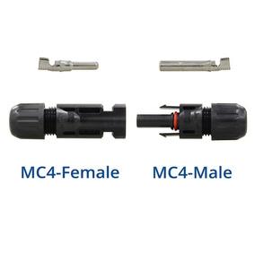 1 Par De Conector Y Mc4 + 1 Par De Conector Mc4