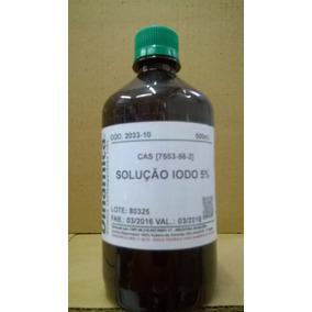 Lugol (iodo 5%) 500ml Inorgânico