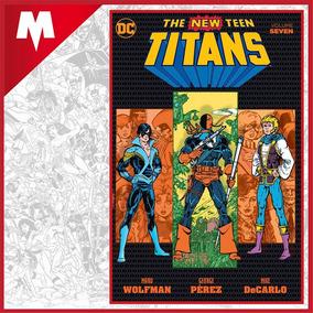 The New Teen Titans Vol 7 Tpb The Judas Contract Dc Inglés
