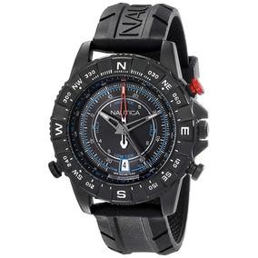 Nautica Nad21001g Reloj Caballero, Analogo, Por Kronocity