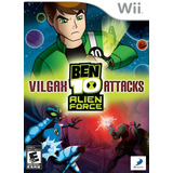 Ben 10 Alien Force Vilgax Attacks Wii Nuevo Y Sellado