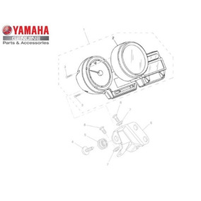 Caixa Superior Do Medidor Para Yamaha Mt 03 2008 Original