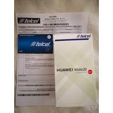 Huawei Mate 20 Sellado Con Garantía Y Factura Nuevo