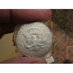 Moeda Half Dollar De 1964 Do Presidente Kennedy