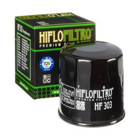Filtro Oleo Ninja 300 Z750 Er6 Z1000 Zx10r Hiflo Hf303