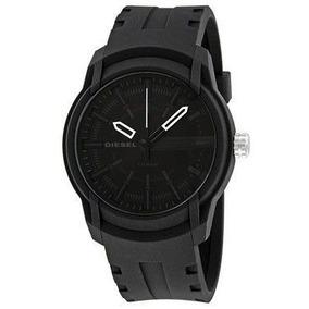 Relógio Diesel Armbar Dz1830 Cinza Dial Preto Silicone