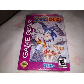 Sonic Chaos *novo* Lacrado Game Gear Americano