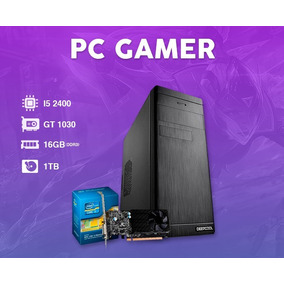Pc Gamer Intel I5 3.4 Ghz, Geforce 2gb 1030 Gt, 16gb ,hd 1tb