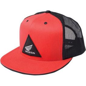 Gorra Factory Effex Honda Hombre Cierre Atrás Rojo negro Tu ac6bbe60509