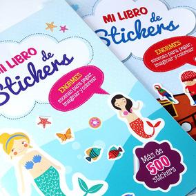 Super Libro De Stickers Con Escenas Para Pegar E Imaginar!