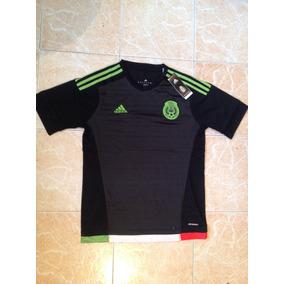 Jersey Seleccion Mexicana Negro Dorado en Mercado Libre México ba74915cbe88e