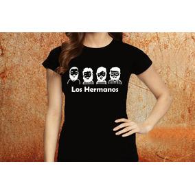 Blusa Feminina Los Hermanos Banda Tshirt Camisa D74 a56451eea2c