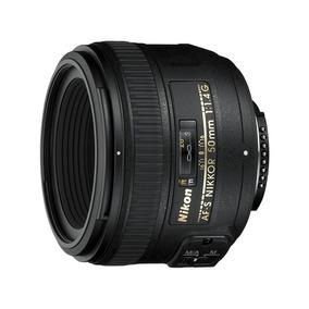 Lente Af-s Nikkor 50mm F/1.4g Compacto Normal Nikon