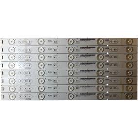 Kit 8 Barras De Led Semp Toshiba Dl3975
