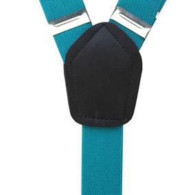 Tirantes Para Niño Grin Accs Color Azul Turquesa