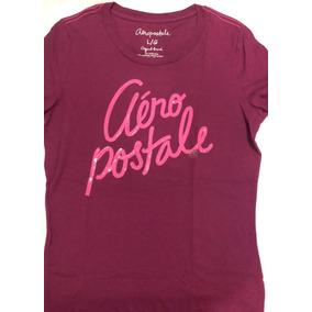 Aeropostale Camiseta Feminina Roxo - Lilás M 1c8d33a70a79a