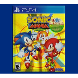 Sonic Mania Plus Ps4 Disponible