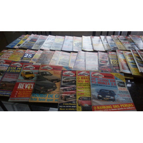 Coleçao Revistas 4 Rodas Com 7 Ediçoes Especiais