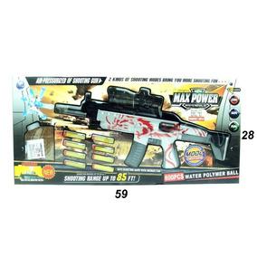 Arma Nerf, 600bolinhas De Gel E 8 Dardos De Espuma P.entrega