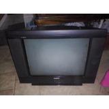 Televisor Sanyo Modelo C21fs51 Prende Pero Aparece Una Raya