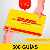 500 Guia Prepagada Dia Siguiente Dhl 1kg+recoleccion Gratis