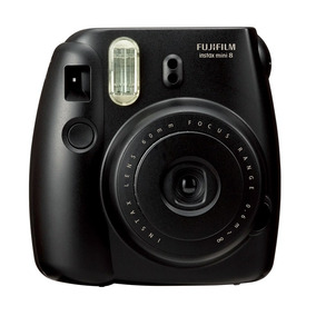 Câmera Instantânea Fujifilm Instax Mini 8 Preta + Filme