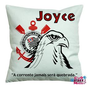 Presente Para Namorada Almofada Personalizada Do Corinthians b4395689fc570