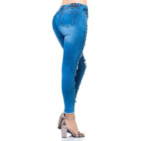 6b0f89670a5e Pantalon De Mezclilla Con Pedreria en Mercado Libre México