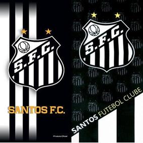 4e8eadef82407 02 Toalhas Banho Futebo Santos Oficial. R  125 39