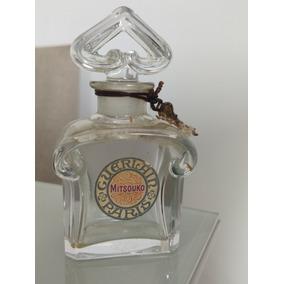 Baccarat Frasco Vazio Cristal Guerlain Perfume Mitsouko