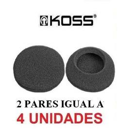 Espumas Para Reposição Fone Koss Porta Pro Akg 4und Id1983