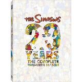 Dvd Os Simpsons 20ª Vigésima Temporada Dublado/legendado