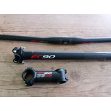 Kit De Carbono Guidon Mesa E Canote Ec90