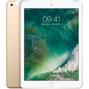 Ipad 128gb Wi-fi 4g Dourado Mpg52bz/a Apple
