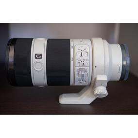 Lente Sony Fe 70-200mm F4 G Oss E-mount 12x Sem Juros