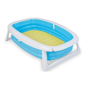 Banheira Splash Com Bomba - Azul - Dican