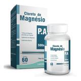 Cloreto De Magnésio Magnezium P.a Lapon 500mg 60 Cáps
