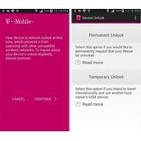 Desbloqueio Desbloquear T-mobile Device Unlock App