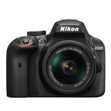 Cámara Nikon D3400 + Lente Af-p 18-55mm Vr Envío Gratis
